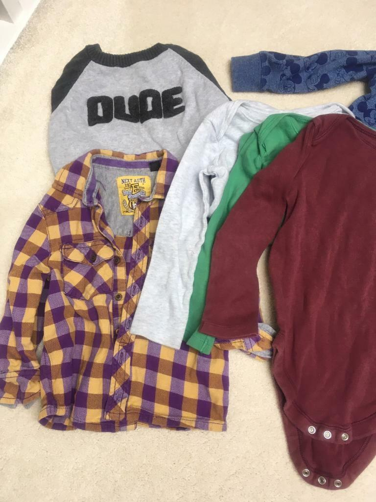 Bundle boys clothes ages 1-2