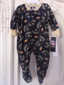 Brand New with tag fleecy onesie Age 12 months