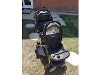 graco double buggy pushchair