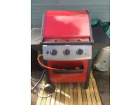 Berkeley three burner barbacue brand new with full gas bottle £70