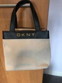 DKNY Small cream bag
