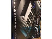 Novation Bass Station II Synthesiser (Hardly Used, Excellent Condition)