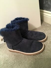 Navy blue ugg boots from ugg Australia