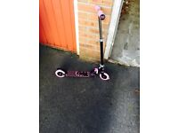 Hello kitty scooter with box