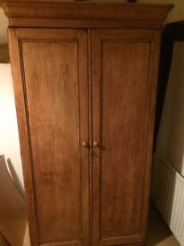 Stunning double pine wardrobe dating to the 50s.