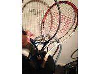 Wilson tennis racket +1 more