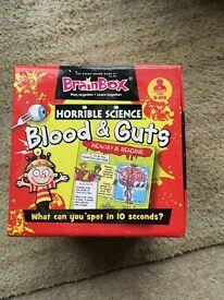 Horrible Science Blood & Guts Brainbox Game