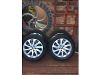 Seat Leon alloys and tyres