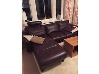 Norwegian designer leather sofa Stressless E300 (company EKORNES)