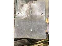 16x12 purple welsh slate reclaimed