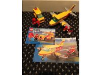 lego 7731,7732 Mail service plane and van