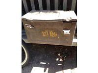 Second World War ammunition box