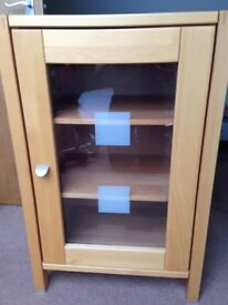 Cabinet/ Storage unit, oak finish