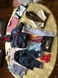 Bundle of baby clothes age 12-18 months - Excellent to new condition