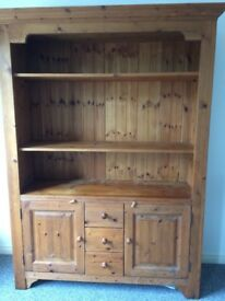 Creations Mexican Pine Display Unit
