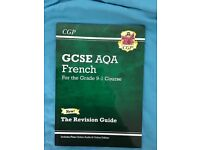 CGP GCSE Aqa French 9-1 Revision Guide Book £4