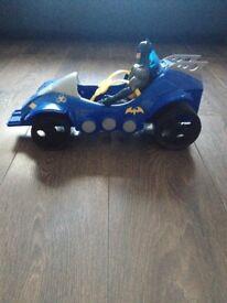 Batman car and figure