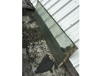 Reclaimed glass for sheds/warehouses/greenhouses