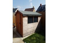 Family garden shed for sale