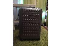 Large Hard Samsonite Suitcase in Grey (4 Wheeler)