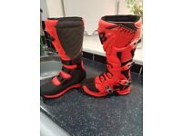 Motorcycle mx boots
