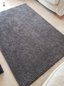 Dark Brown Rug 77inches x 53 inches