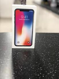 IPHONE X 256GB BRAND NEW UNLOCKED