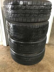 Set of 205/55R16 tires. 205 55 16