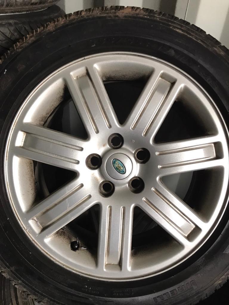 """Range Rover vogue 19"""" alloys tyres"""