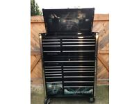 Snap on tool box 40 inch Gloss black with Metal Heaven decals