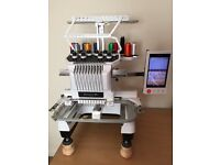 Brother Entrepreneur Pro PR1000e Embroidery Machine with All Extras Ready-to-Go Business or Hobby