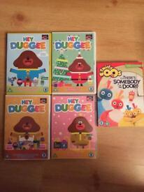 Hey Dugee & Twirly Woos DVD bundle, GUC