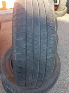 4 PNEUS ETE - MICHELIN 205 65 15 - 4 SUMMER TIRES