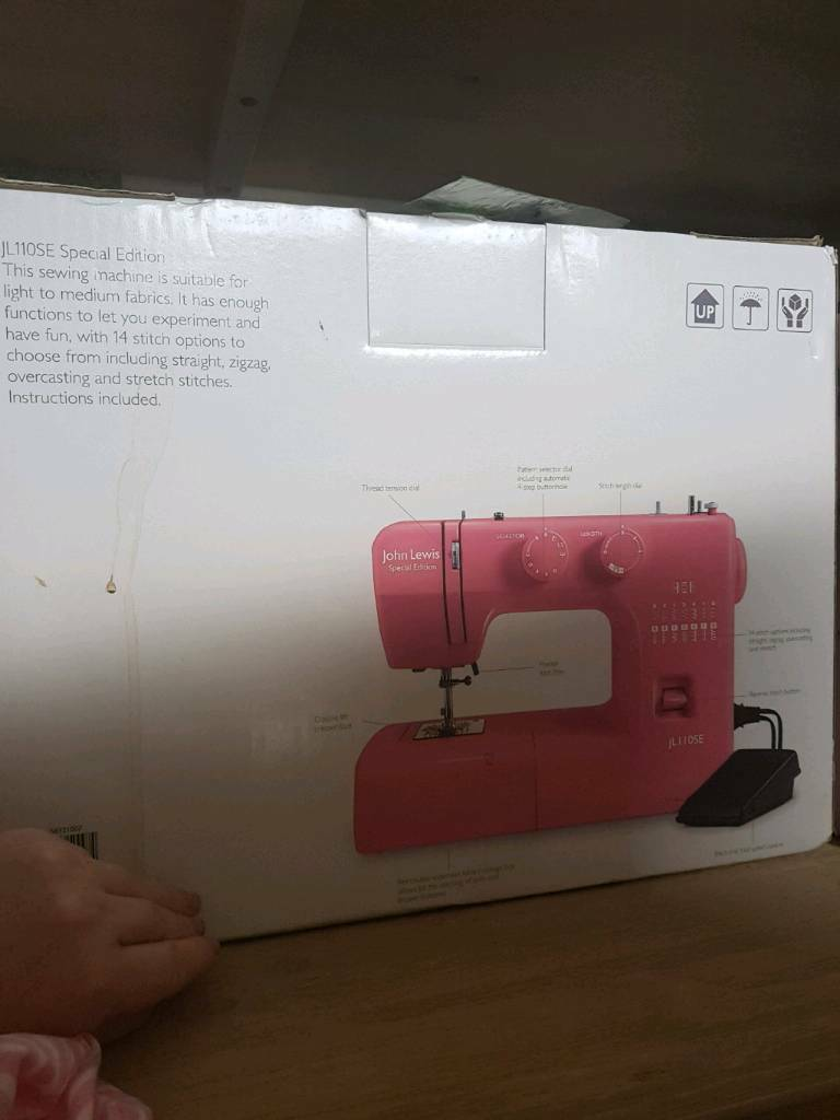 John Lewis sewing machine new in box