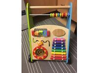 Wooden activity walker -£17 ono