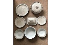 Denby Tasmin tableware 74 items (can split) As new condition dishwasher proof