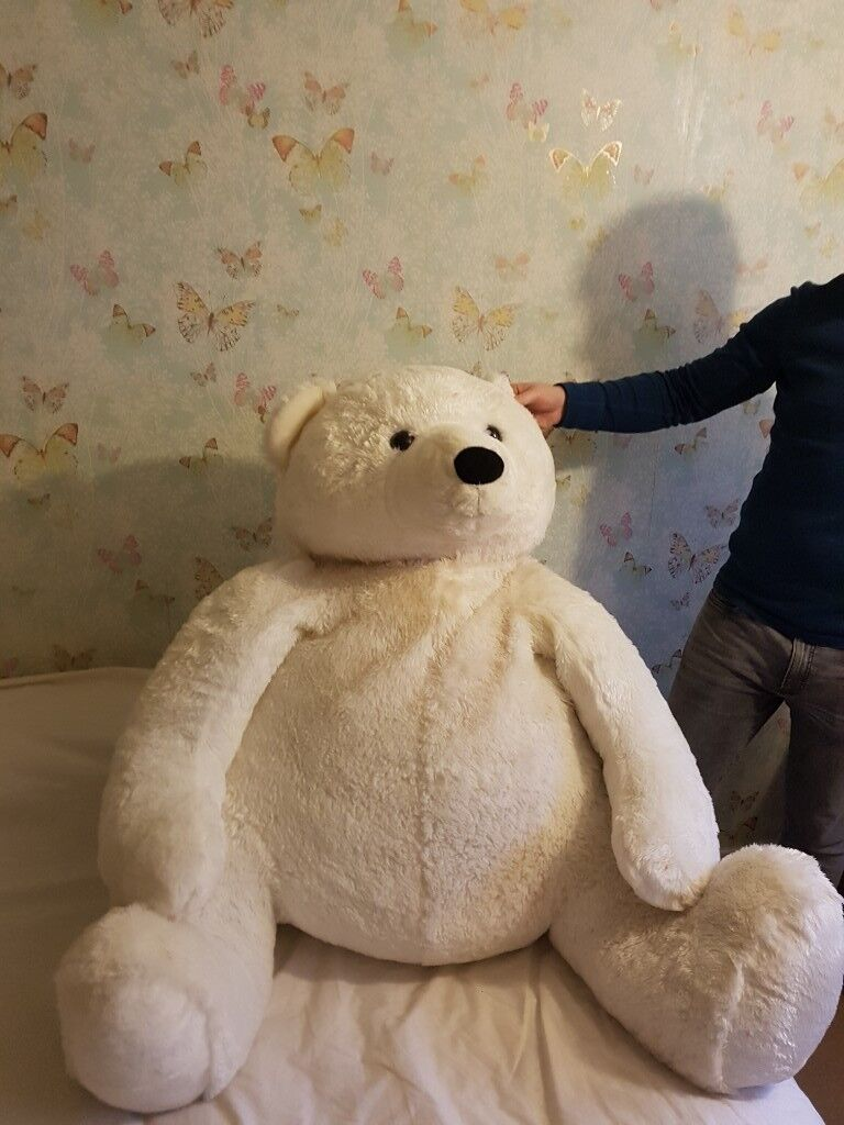 Giant Polar Bear Plush In Aigburth Merseyside Gumtree