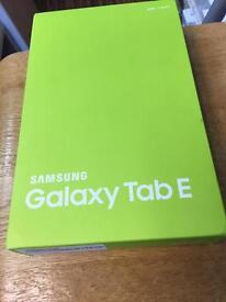 Brand new Samsung galaxy tab E 9.6 inch
