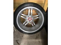 Wheel and tyre to fit Audi A3