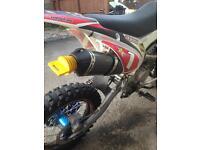 Crf110 yx 160 4 valve