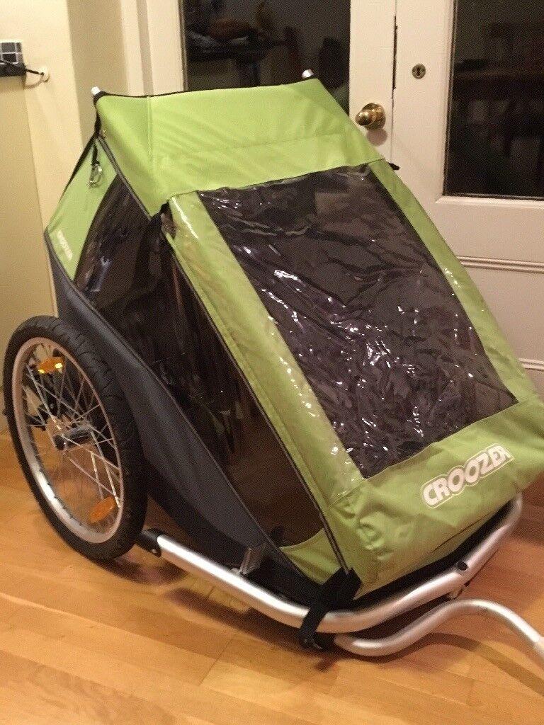 Croozer kid for 2 bike trailer