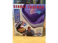 George Foreman grill-never used, still in box
