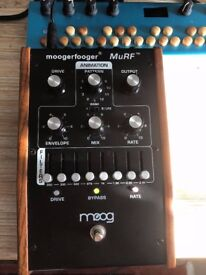 Moog Moogerfooger Murf , Analog Filterbank + Distortion .