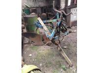 Vintage plough 1 furrow