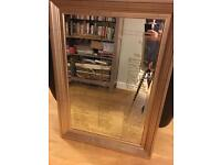 Gold mirror ideal for wedding party