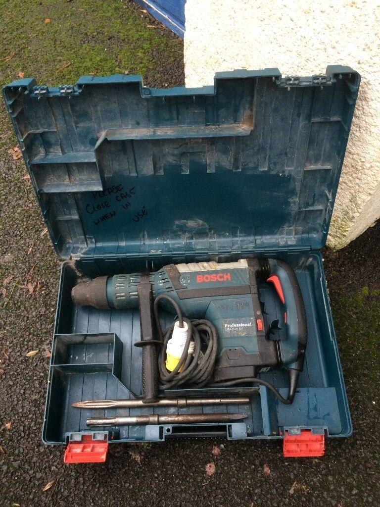 BOSCH GBH 8-45 DV HEAVY DUTY 110v ROAD CONCRETE BREAKER DRILL NOT MAKITA  HILTI | in Newton Abbot, Devon | Gumtree