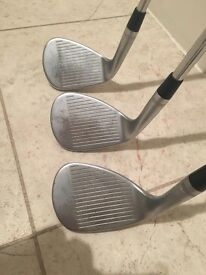 Callaway Mack Daddy 3 golf club wedges, 48, 54 & 60 degs loft