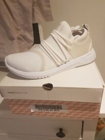White Fabletics Trainers
