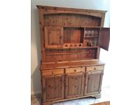 Kitchen Dresser with good storage and display space (excellent condition)