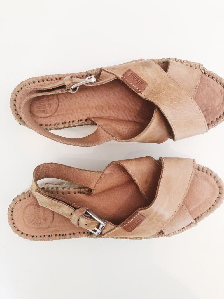 63062e266b4 Aloha Leather Espadrilles Sandals   in Hammersmith, London   Gumtree